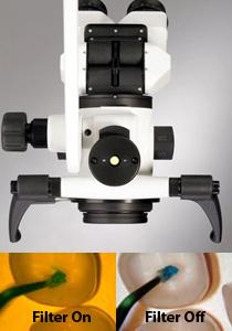 Mikroszkop kompozit filter