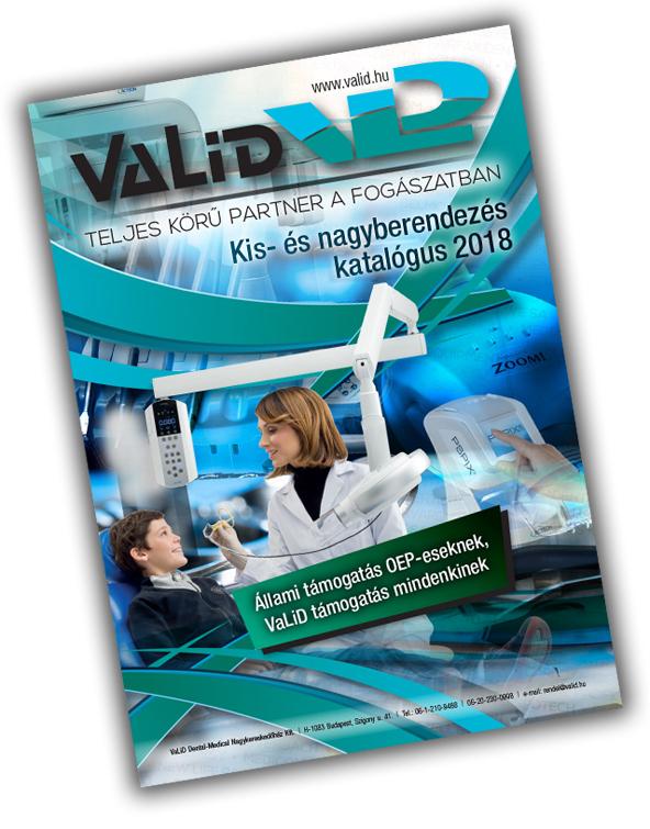 VaLiD kisgep katalógus borito 2018