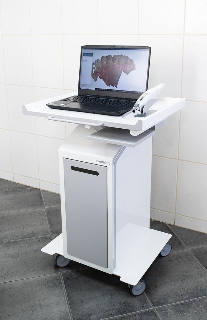 DigiSmile scanner center