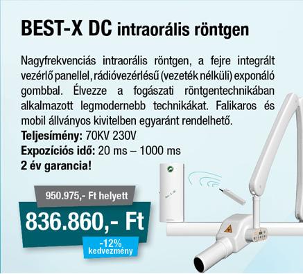Best-X DC intraorál röntgen