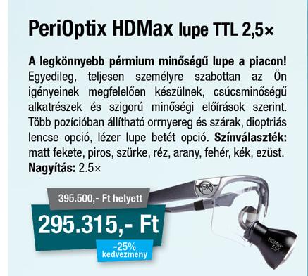 PeriOptix Lupe 2.5× TTL